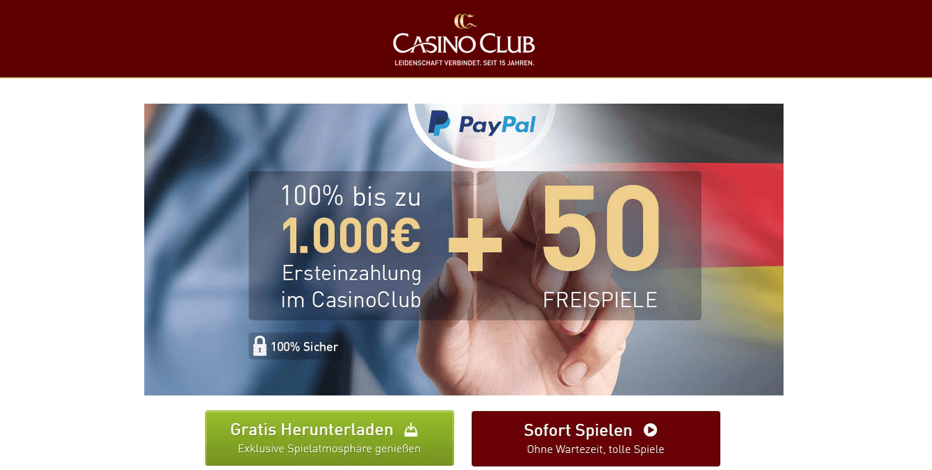casino club auszahlung paypal