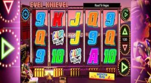 Der Evel Knievel Road to Vegas Slot von Core-Gaming
