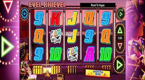 Evel-Knievel-Road-to-Vegas-Slot
