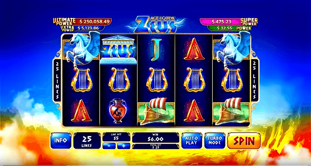Playtech kündigt Age of the Gods Slots an