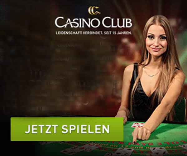 Neu, das CasinoClub live Casino