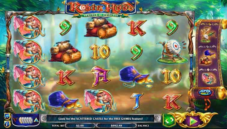 der Robin Hood Prince of Tweets Slot