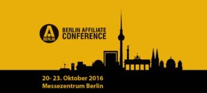 Die Berlin Affiliate Conference vom 20.  23. 10