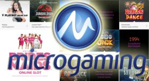 Microgaming Slots immer beliebter
