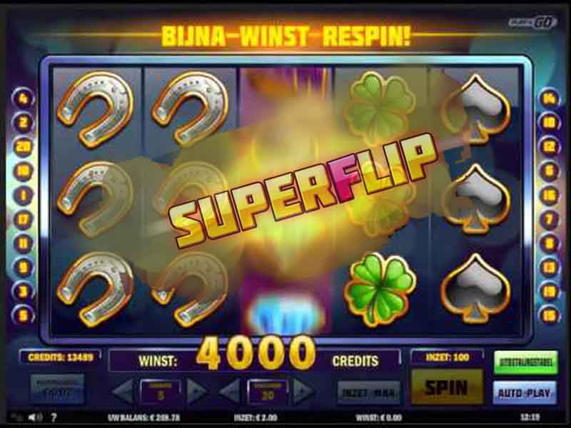 super flip slot mir green online casino