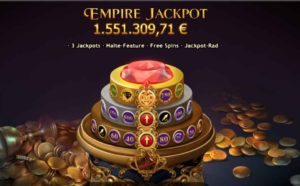 Neu, der Empire Fortune Slot