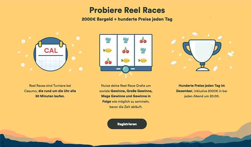csumo online casino reel races
