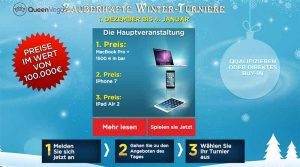 Das Queen Vegas Winter Turnier