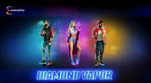 Diamond Vapor Slot, exlusiv von Endorphina zur EiG 2017