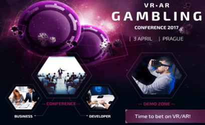 VR AR Gambling Conference in Prag am 3. 4. 17