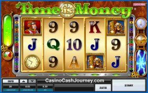 Der Time Is Money Slot von Realistic Games