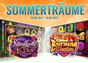 Die Aktion Sommerträume in den SkillOnNet Casinos