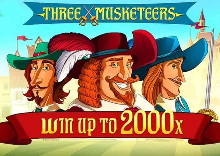 Three Musketeers Slot, neu von Red Tiger Gaming