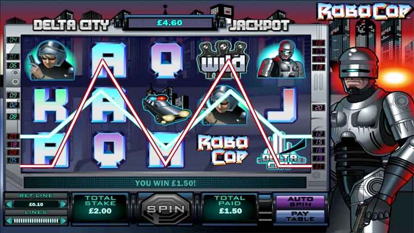 Single- oder Multiline Slots - robocop slot