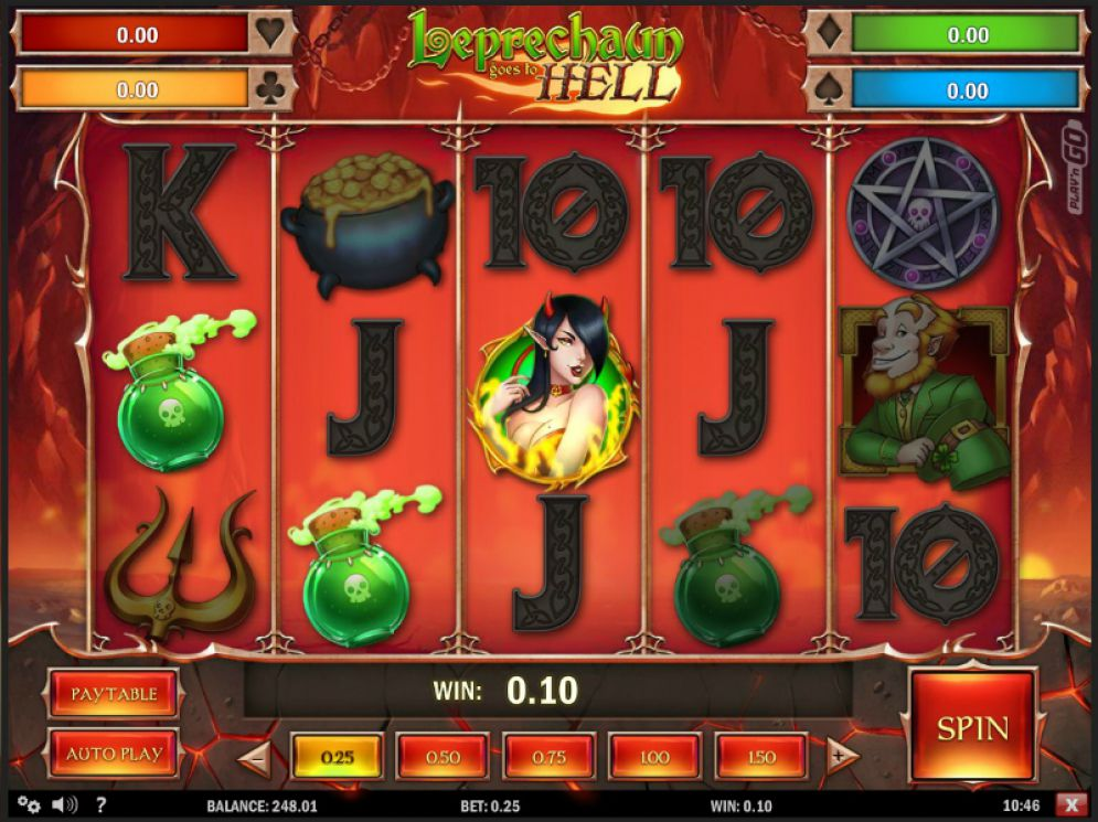 eprechaun goes to hell slot
