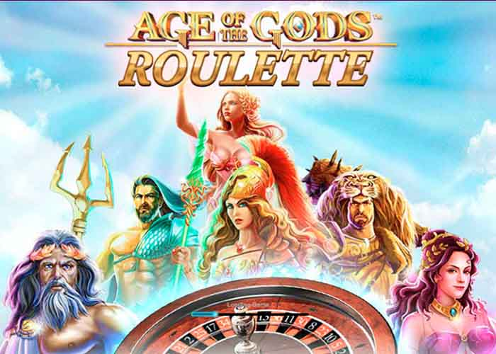 Das Age of the Gods Roulette mit progressiven Jackpot
