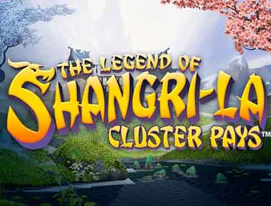 the legend of shangri-la: cluster pays spielen