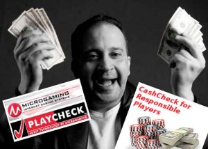 Tools zur Selbstkontrolle, Microgamings PlayCheck und CashCheck