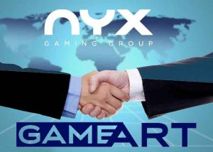 GameArt kooperiert mit der NYX Gaming Group