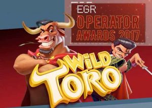 Der Wild Toro Slot,  das Game of the Year