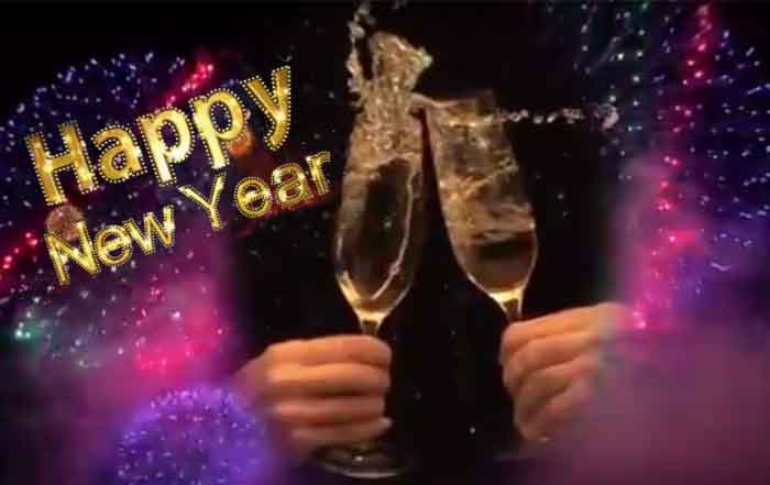 Happy New Year wünscht das Casino Magazin