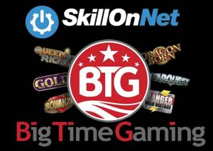 SkillOnNet integriert Big Time Gaming Slots