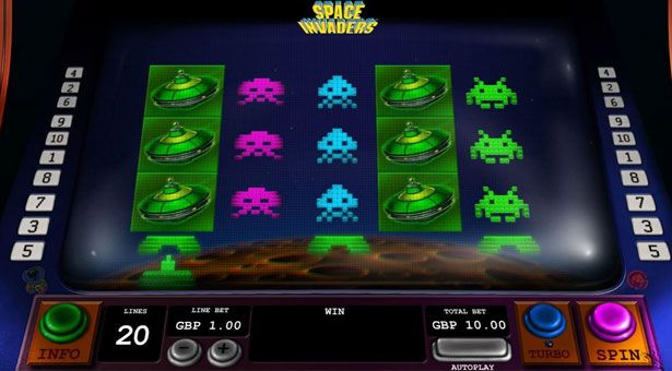 space inviders slot
