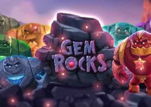 Slot und Block Breaking Elemente im Gem Rocks Slot