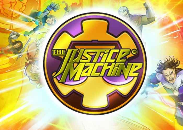 Der Justice Machine Slot, die Parade der Superhelden