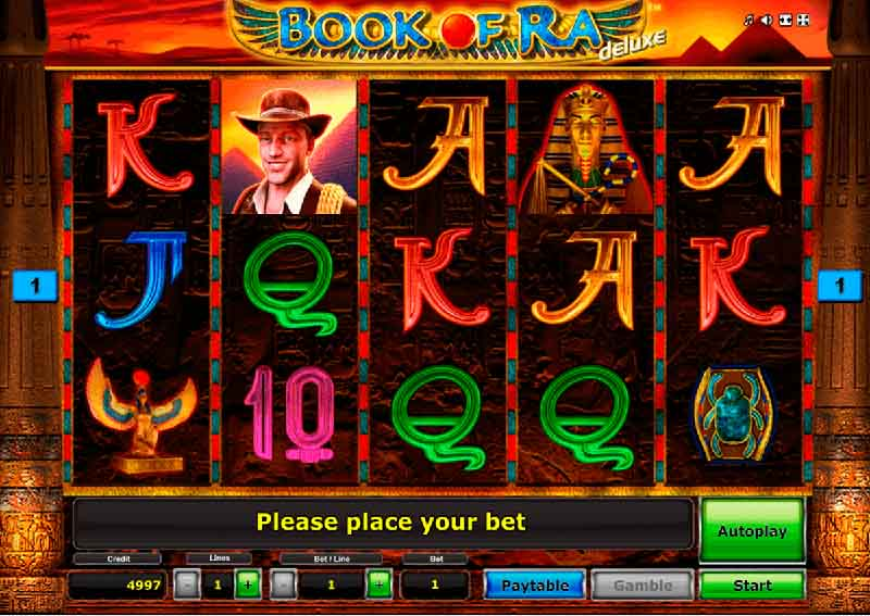 book of ra de luxe slot