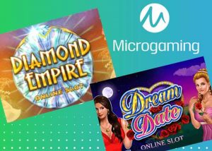 Dream Date Slot und Diamond Empire Slot, neu von Microgaming