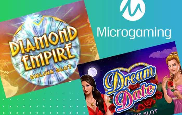 diamond empire slot und dream date slot von microgaming