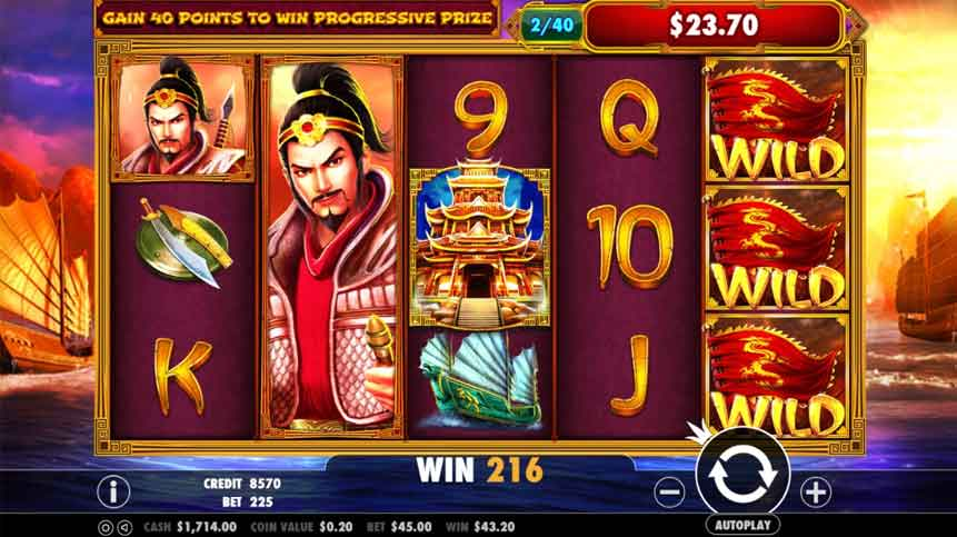 Three Kingdom Wars Slot(San Guo Zheng Ba