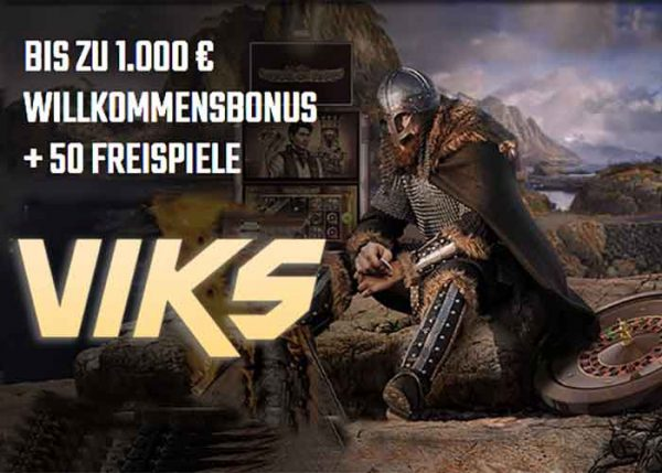 willkomensbonus im viks casino