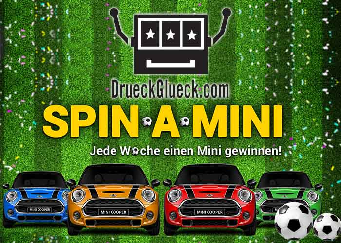 Spin-a-mini-aktion-drueck-glueck