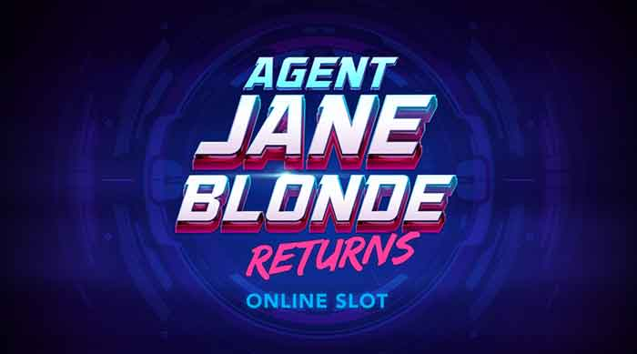 Agent Jane Blonde Returns Slot, neue slotgames