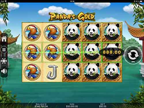 Pandas Gold Slot im intertop Casino