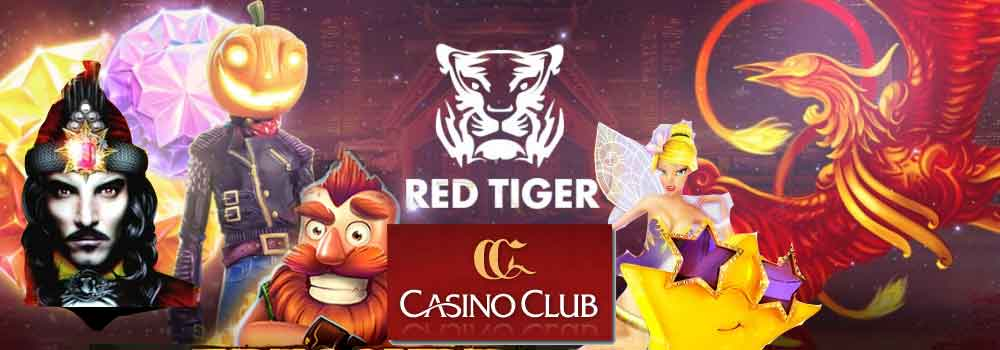 CasinoClub und Red Tiger Gaming