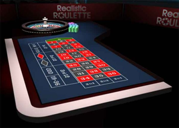 Realistic Games 3D Roulette, Real-Life-Erfahrung in einer virtuellen Umgebung