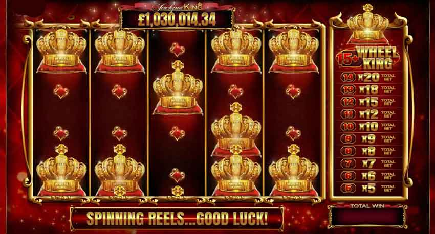 Must Be Win Jackpot Jackpot King de luxe