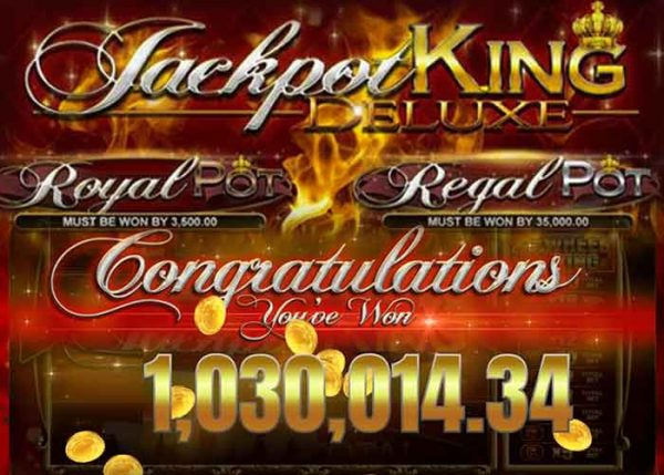 Neu – der Jackpot King Deluxe Slot mit 2 Must Be Win Jackpots