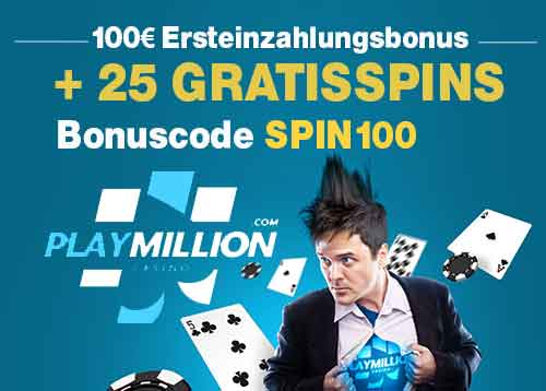 playmillion casino test willkommensbonus
