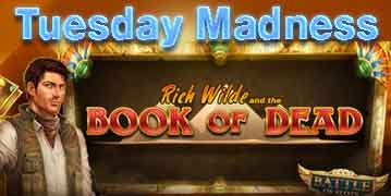 Videoslots casino test Willkommensangebot Tuesday Madness
