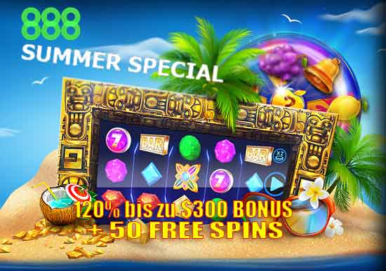 888 casino summer spezaal