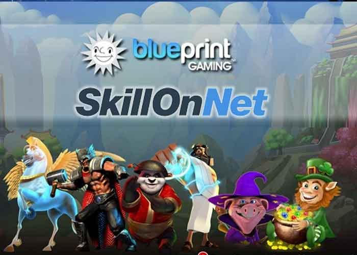 Blueprint Gaming und SkillOnNet