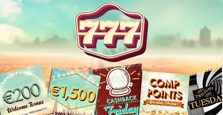 Die Daily Deals im 777 Casino