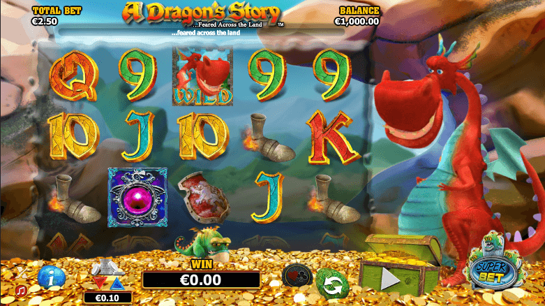 Der A Dragon Story Slot