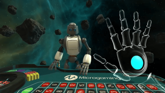 Das Virtual Reality Roulette vom Microgaming