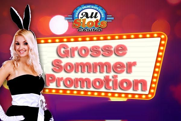 Sommeropromotion des All Slot Casino